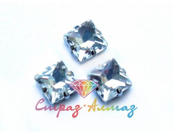 Квадрат в цапах, 12*12 мм., кристалл
