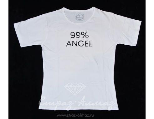 """Футболка """"99% Angel"""""""