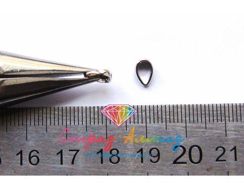 Бэйл, 2,8х7 мм. (серебро)