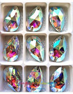 Капля 17*28 мм. кристалл АВ...