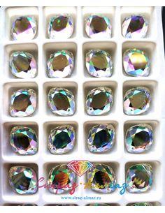 Ромб 13*16 мм. кристалл АВ...