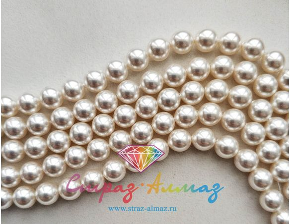 Жемчуг 2 мм. White (650)