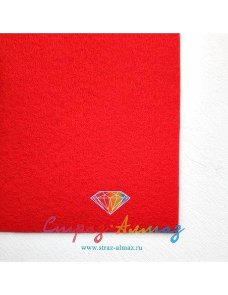 Основа для вышивки Красный 22*20 см.