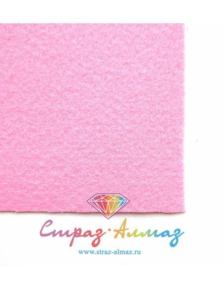 Основа для вышивки Розовый 22*20 см.