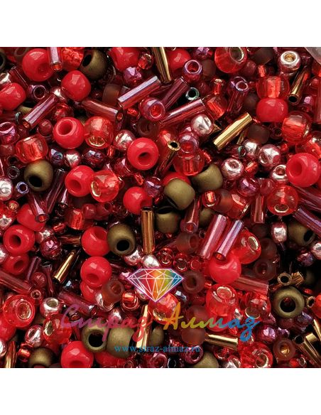 Микс TOHO: Samurai- Red/Brown Mix (3218)