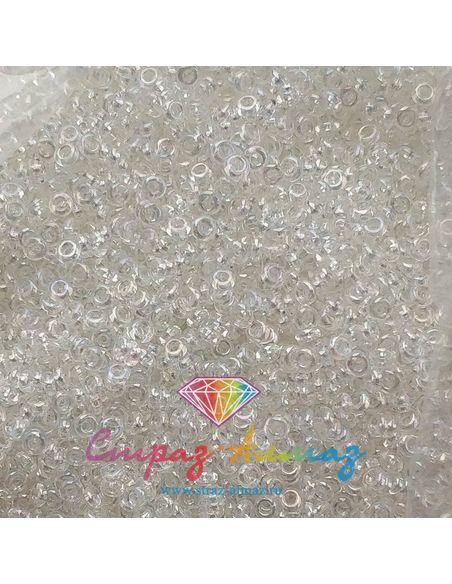 TOHO Demi Round 11/0 Transparent-Rainbow Crystal (161)