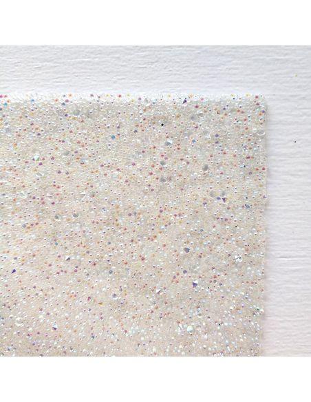 Кристальная ткань 4*4 см, цвет Кристалл АВ