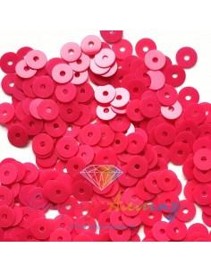 Пайетки 4 мм. плоские Rosso...
