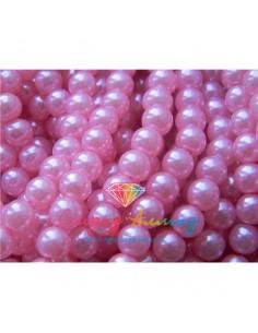 Жемчуг, нежно-розовый, 6 мм.
