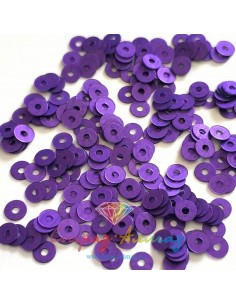 Пайетки 3 мм. плоские Viola...