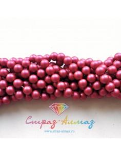 Жемчуг 5 мм. Mulberry Pink...
