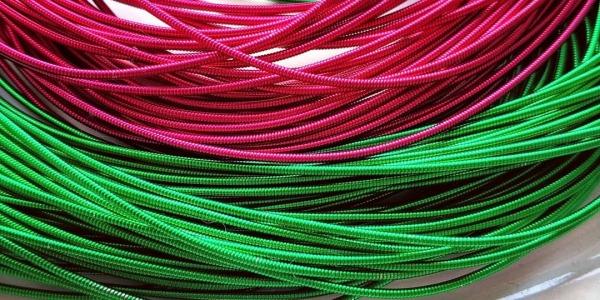 Новые цвета жесткой канители