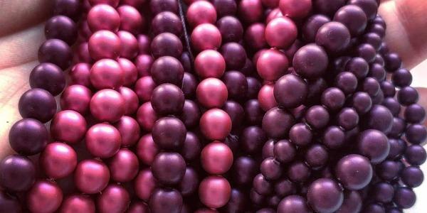 Новые цвета кристального жемчуга swarovski